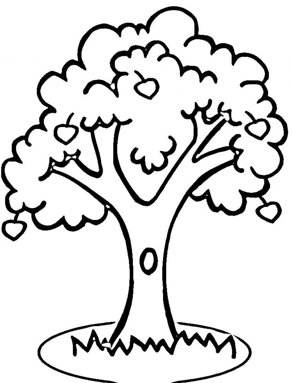 7 Habits Tree Coloring Page In 2020 Apple Coloring Pages Valentine Coloring Pages Tree Coloring Page