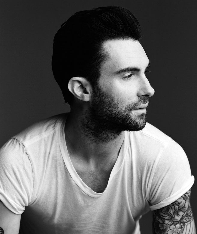 Adam Levine Black And White Photoshoot | www.pixshark.com ...