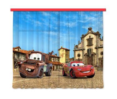 Rideaux de voilage - Cars Flash McQueen et Martin Disney Disney ...