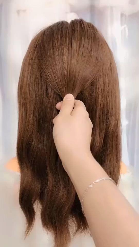 peinados para videos de cabello largo Peinados Tutoriales Compilación 2019 | Parte 42 – Nuevas ideas