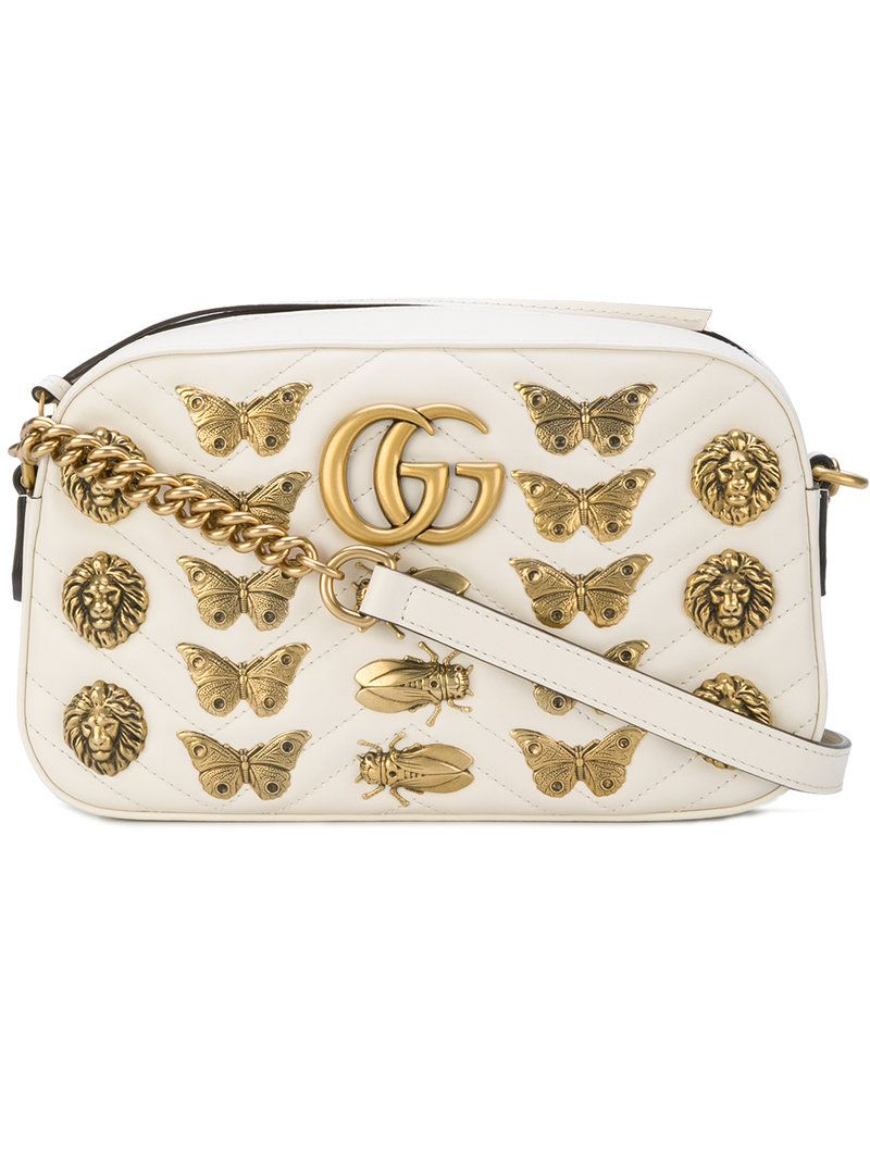 6f7f2ce9072833 GUCCI GUCCI - GG MARMONT CROSSBODY BAG . #gucci #bags #shoulder bags  #leather #crossbody #