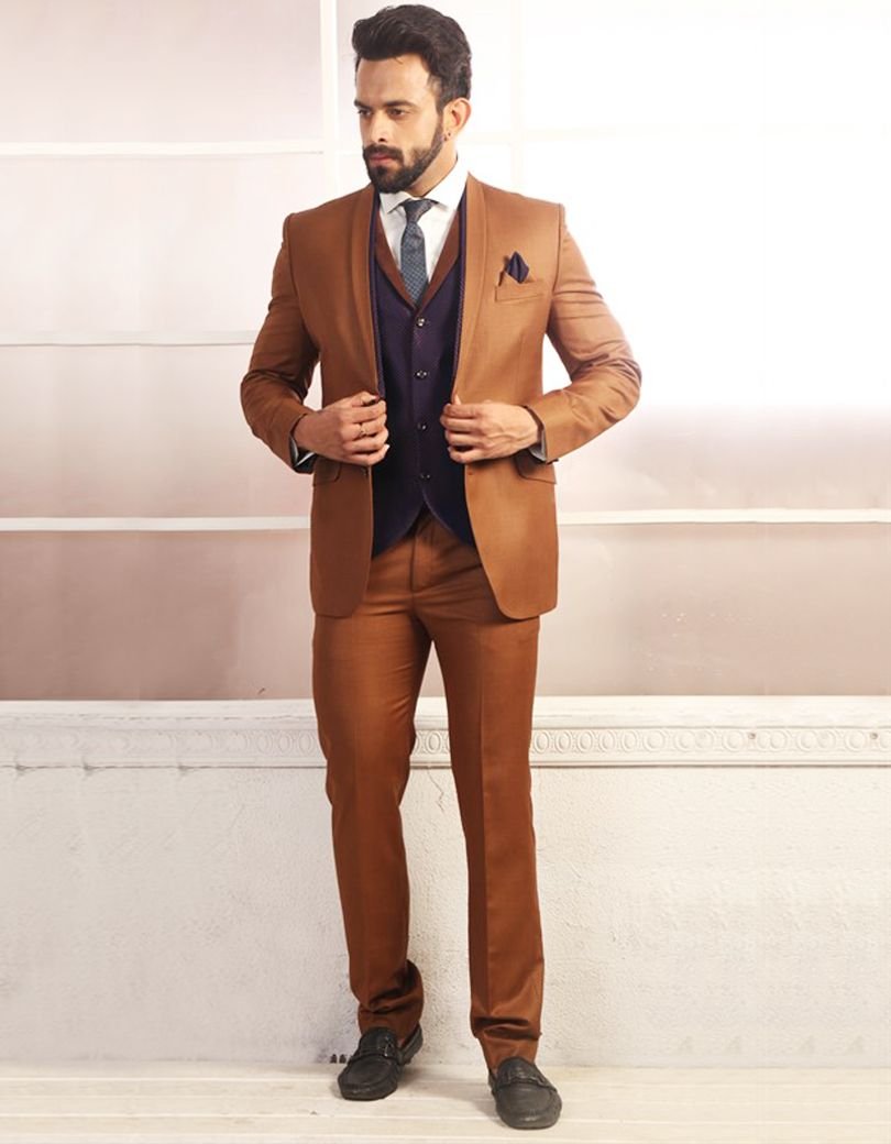 Brown Wedding Suits For Groom | Wedding Tips and Inspiration