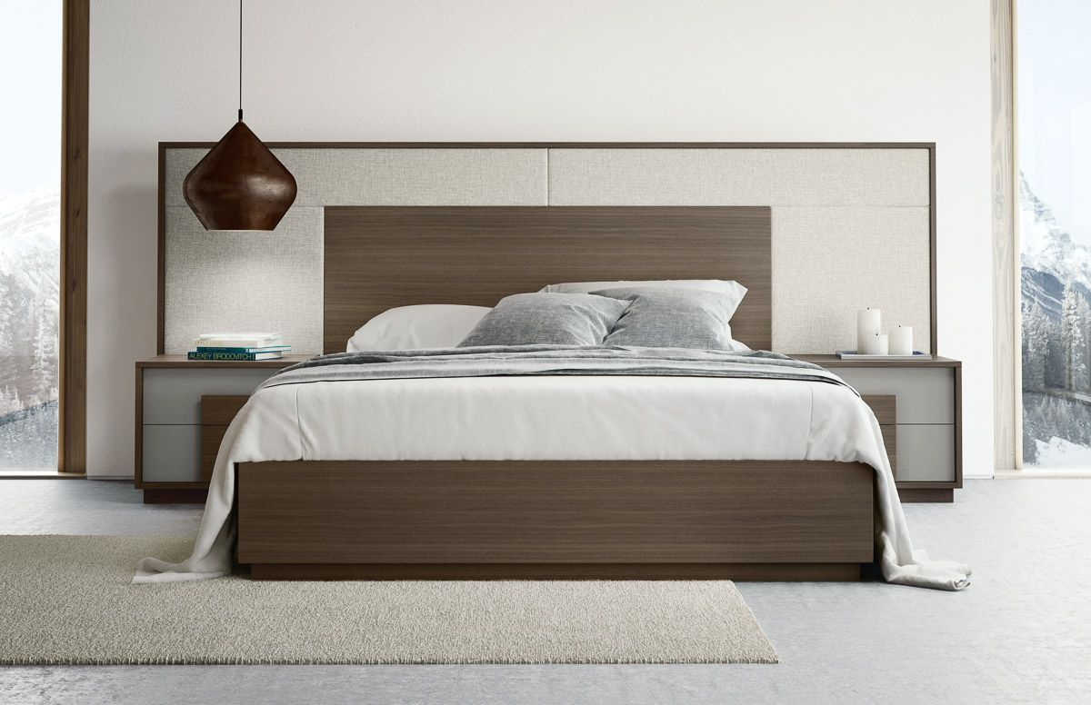 Siena bed with Umbia night tables