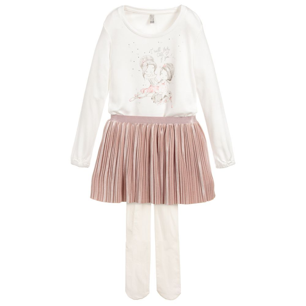 e7f583ddb7561 Girls Top & Skirt Set for Girl by Losan. Discover more beautiful designer Outfit  Sets for kids online