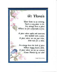 A 50th 60th 70th 80th 90th Birthday Present Gift Poem For Nana 33 Nana Quotes Nana Poems Birthday Poems