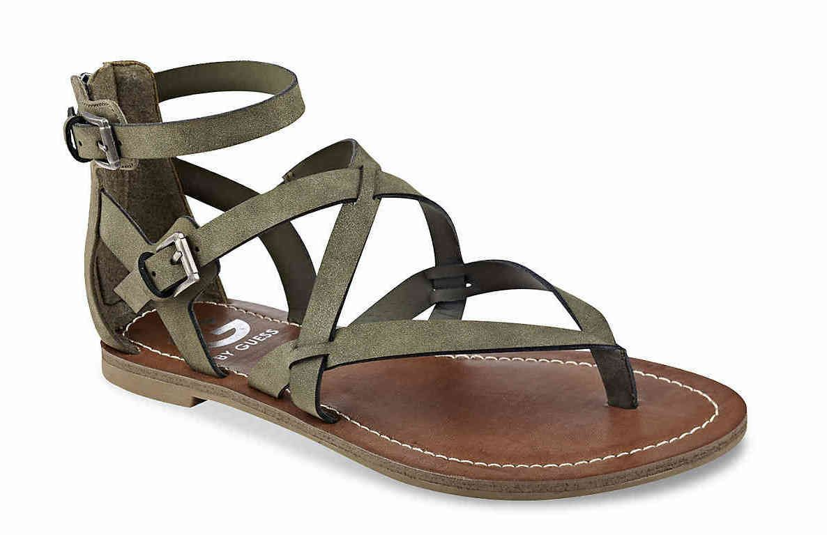 328e3b4e88e2 G By Guess Howy Gladiator Sandal Shop now --  http   shopstyle.it l ...