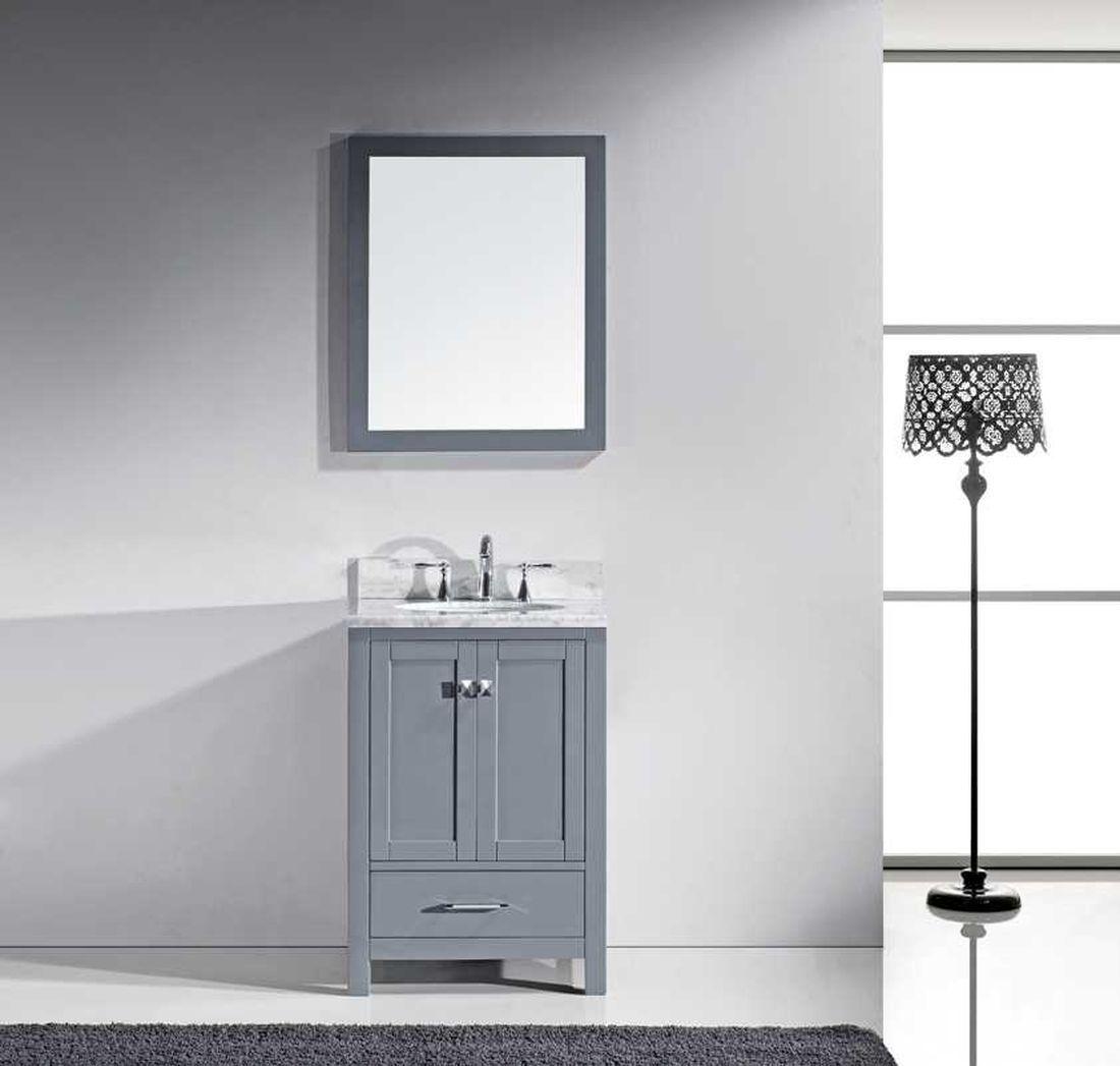 Caroline Avenue 24″ Single Bathroom Vanity Cabinet Set | Bathroom ...