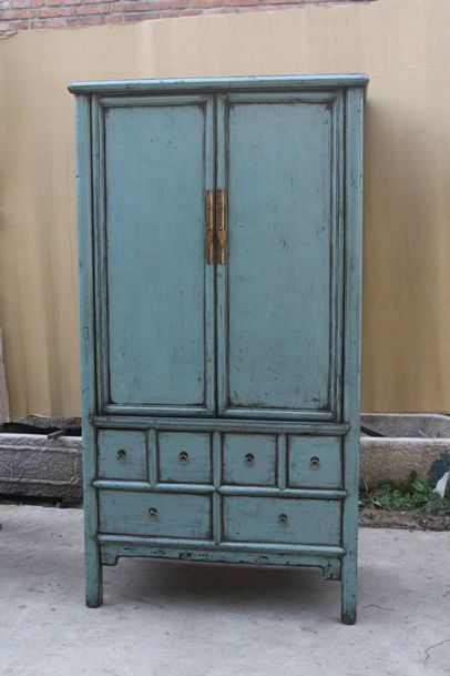 Love this Chinese Wedding Cabinet! - Chinese Red Antique Two Door Two Drawer Carved Wedding Cabinet - Buy