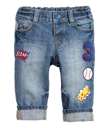 Straight Jeans   Blau   Kinder   H&M DE