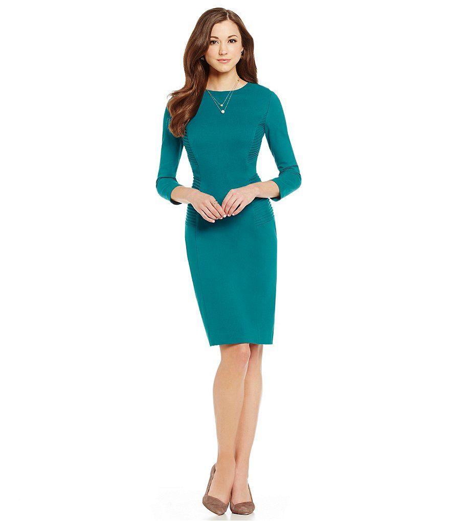 Antonio Melani Suzanne Ponte Sheath Dress | Things I want ...
