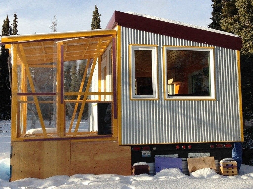 Tiny House Built In 2016 Cozy Warm In Yukon Winters
