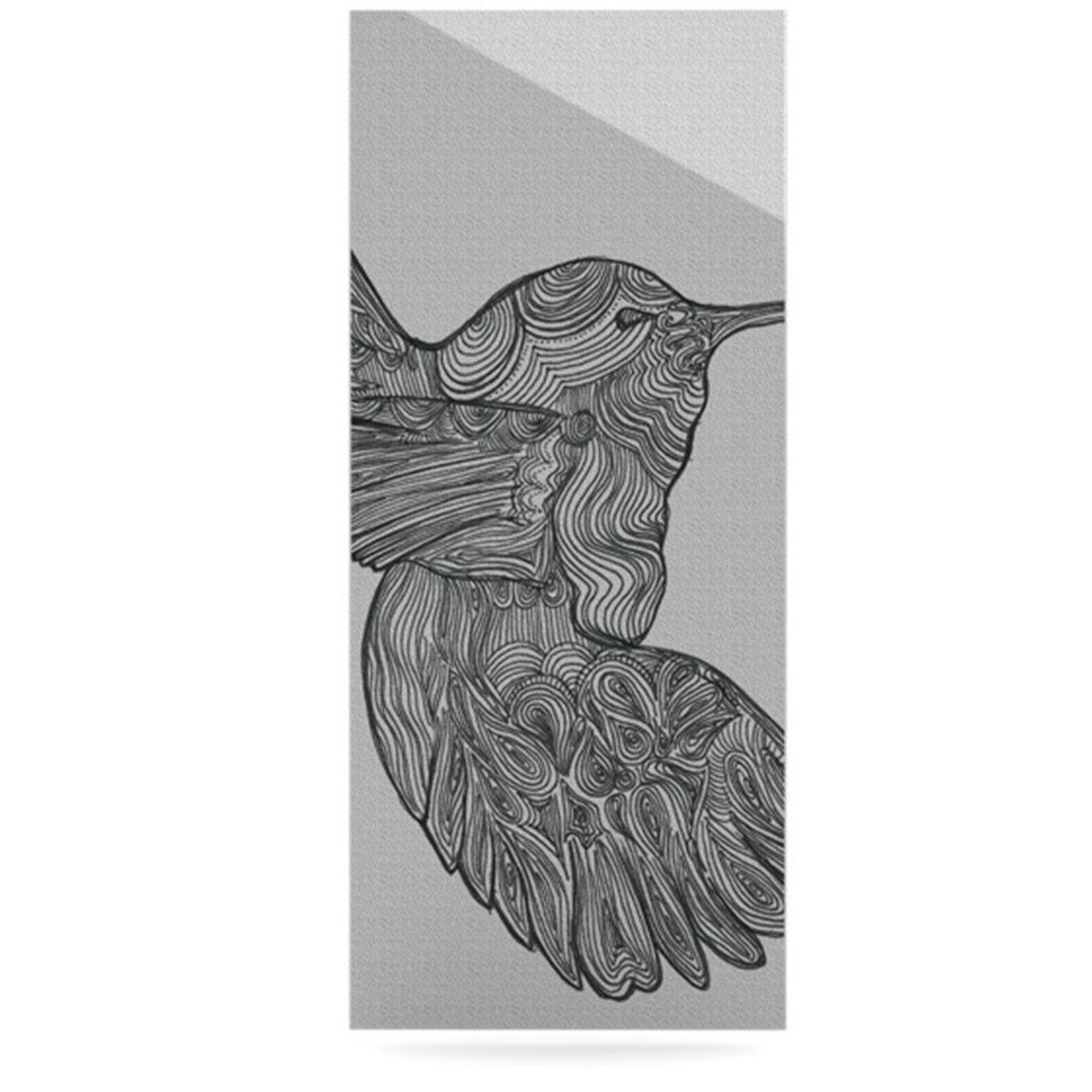 Hummingbird by Belinda Gillies Graphic Art Plaque