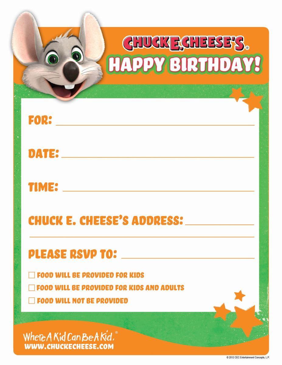 Printable birthday invitations birthday party inspiration chuck e cheese birthday invitations themesflipcom themesflip filmwisefo