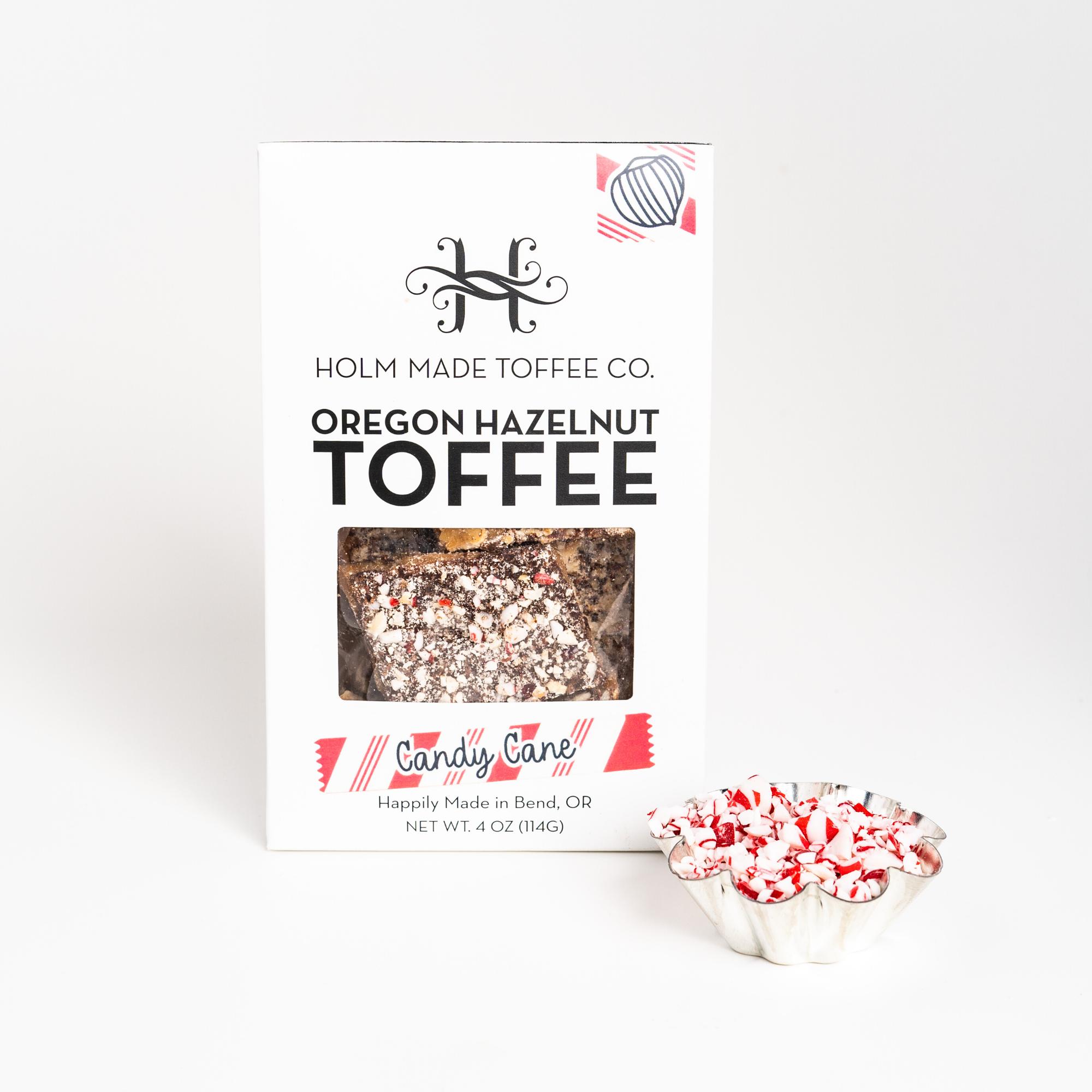 Photo of Candy Cane – Oregon Hazelnut Toffee