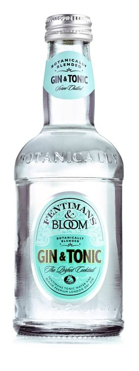 Package design - (Fentimans & Bloom's gin & tonic.