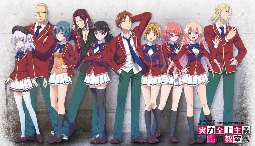 Welcome To The Classroom Of The Elite Bluray Bd Dual Audio Episodes 480p 720p Download Anime Classroom Anime Anime Movies