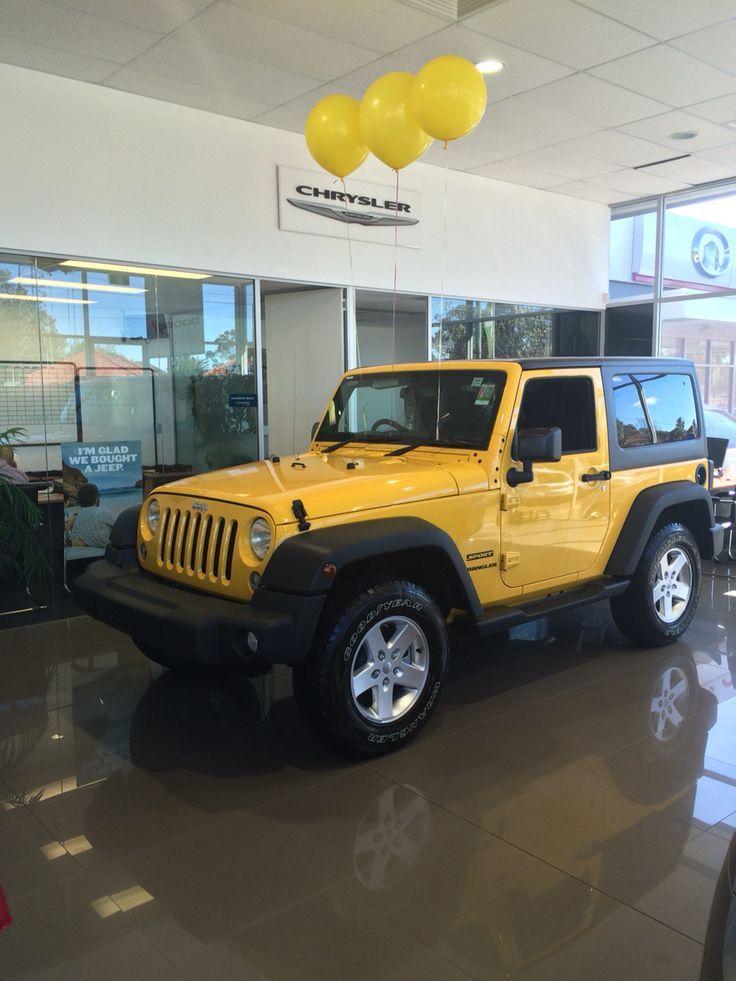 Jeep Wrangler 2 Door Sport, jaune Baha Heartland