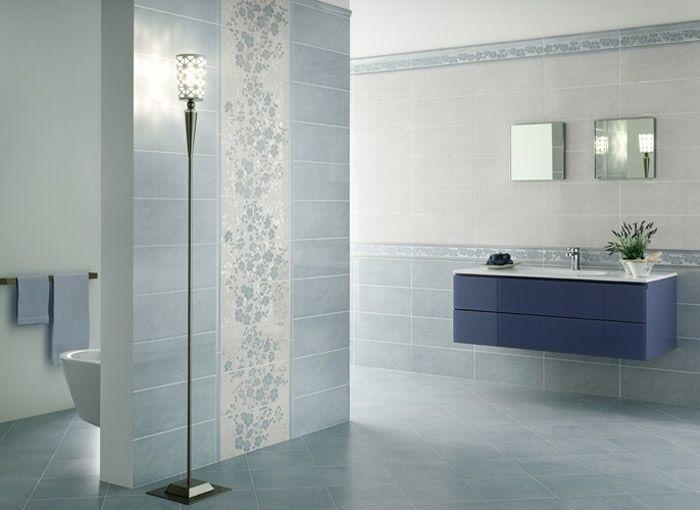 Bagno azzurro ceramica vallelunga idee per la casa nel