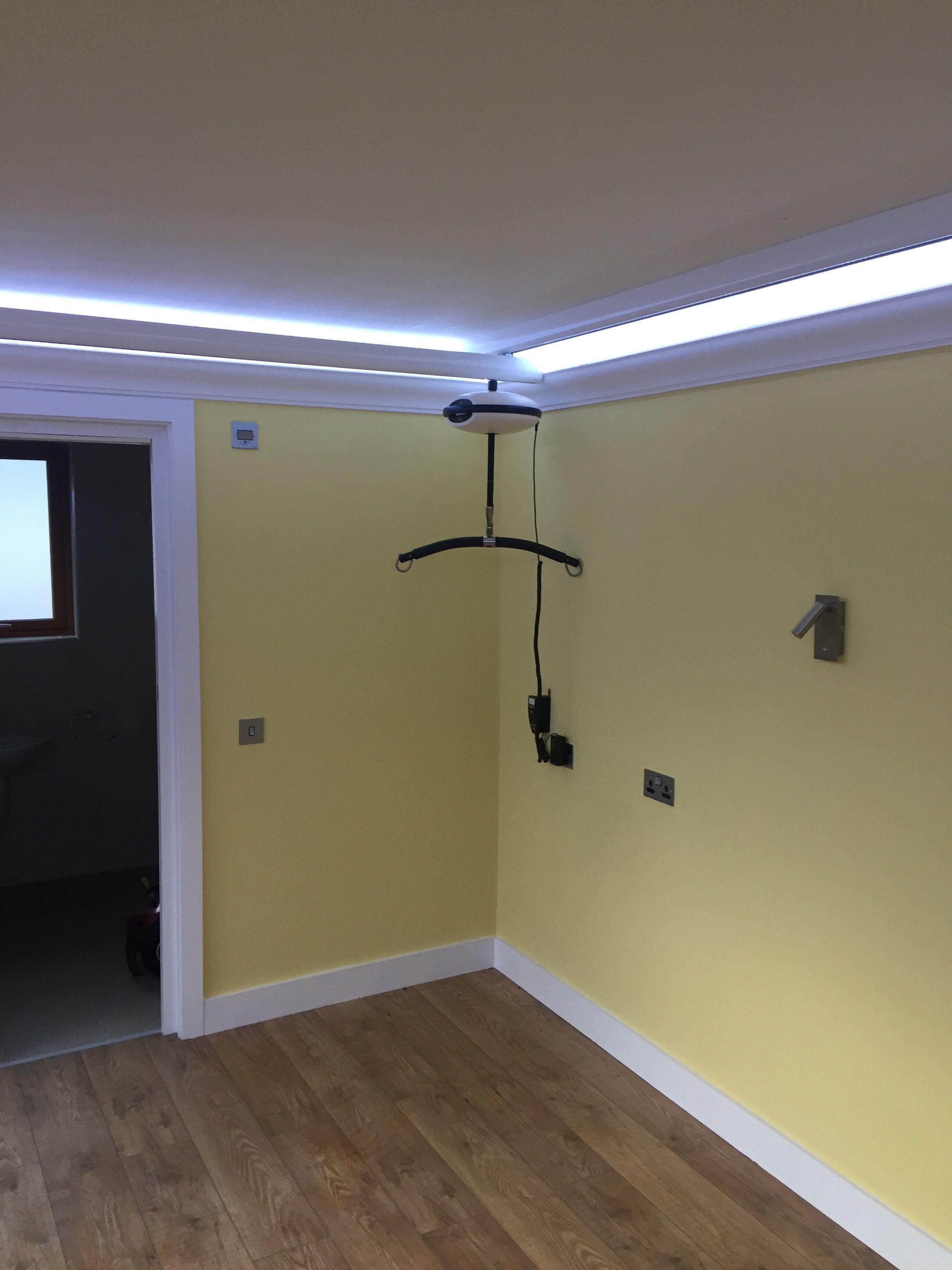 Luna hoist Ceiling Fix Private home Dublin Home