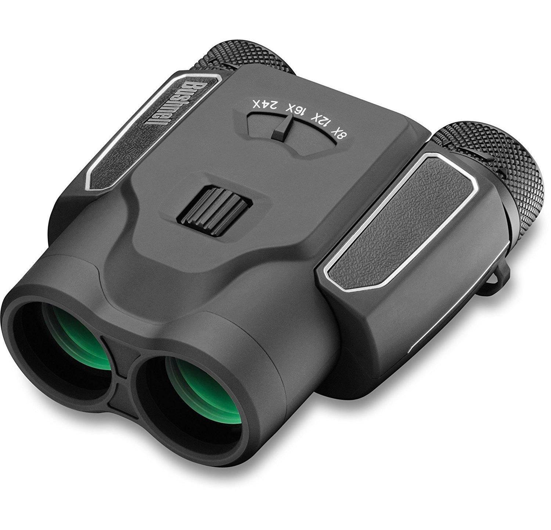 Bushnell 824x25 Spectator Sport Zoom Binocular (Black