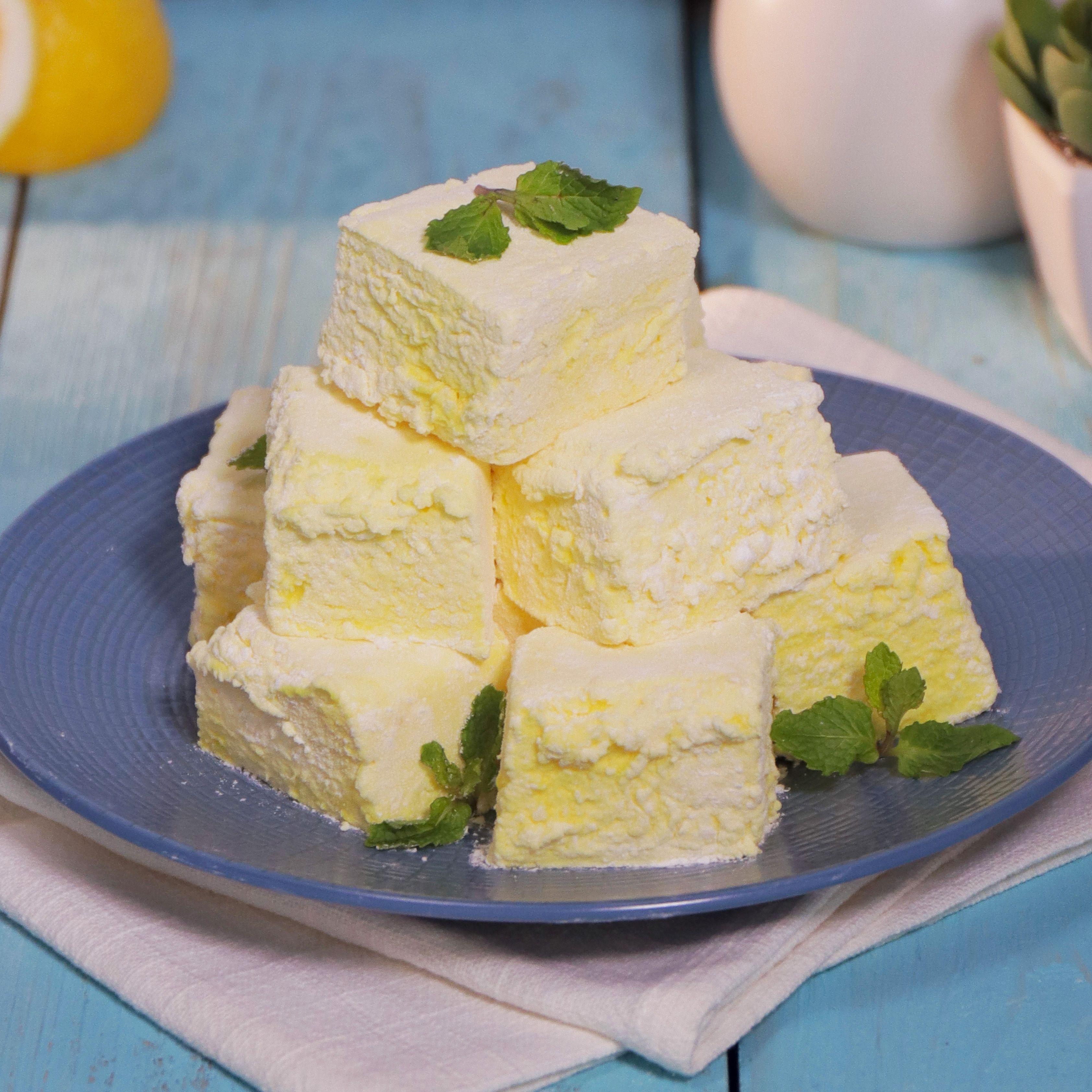 Resep Lemon Marshmallow Resep Di 2020 Hidangan Penutup Camilan Marshmallow