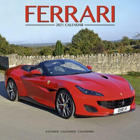 Ferrari 2021 Calendar Travel Through The Years Of Italian Performance Racing With The Ferrari Wall Cal Ferrari Expensive Sports Cars Most Expensive Sports Car