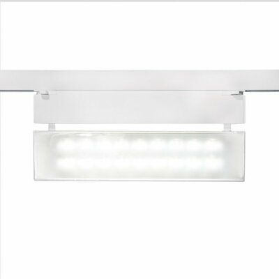 WAC Lighting Wall Washer Track Head Finish: White, Color Temperature: 2700K