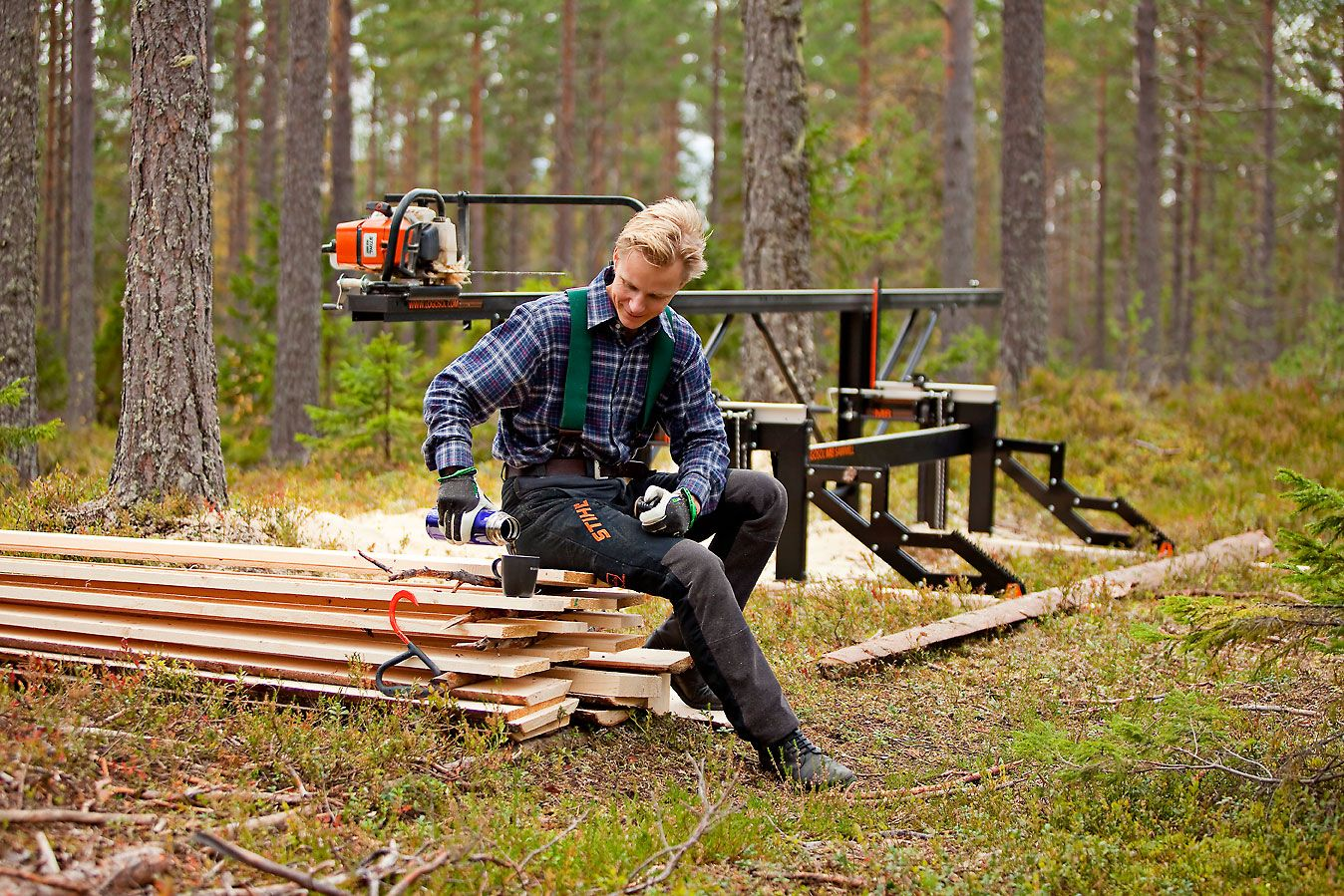 Portable sawmills, chainsaw sawmill and mobile wood mill ...