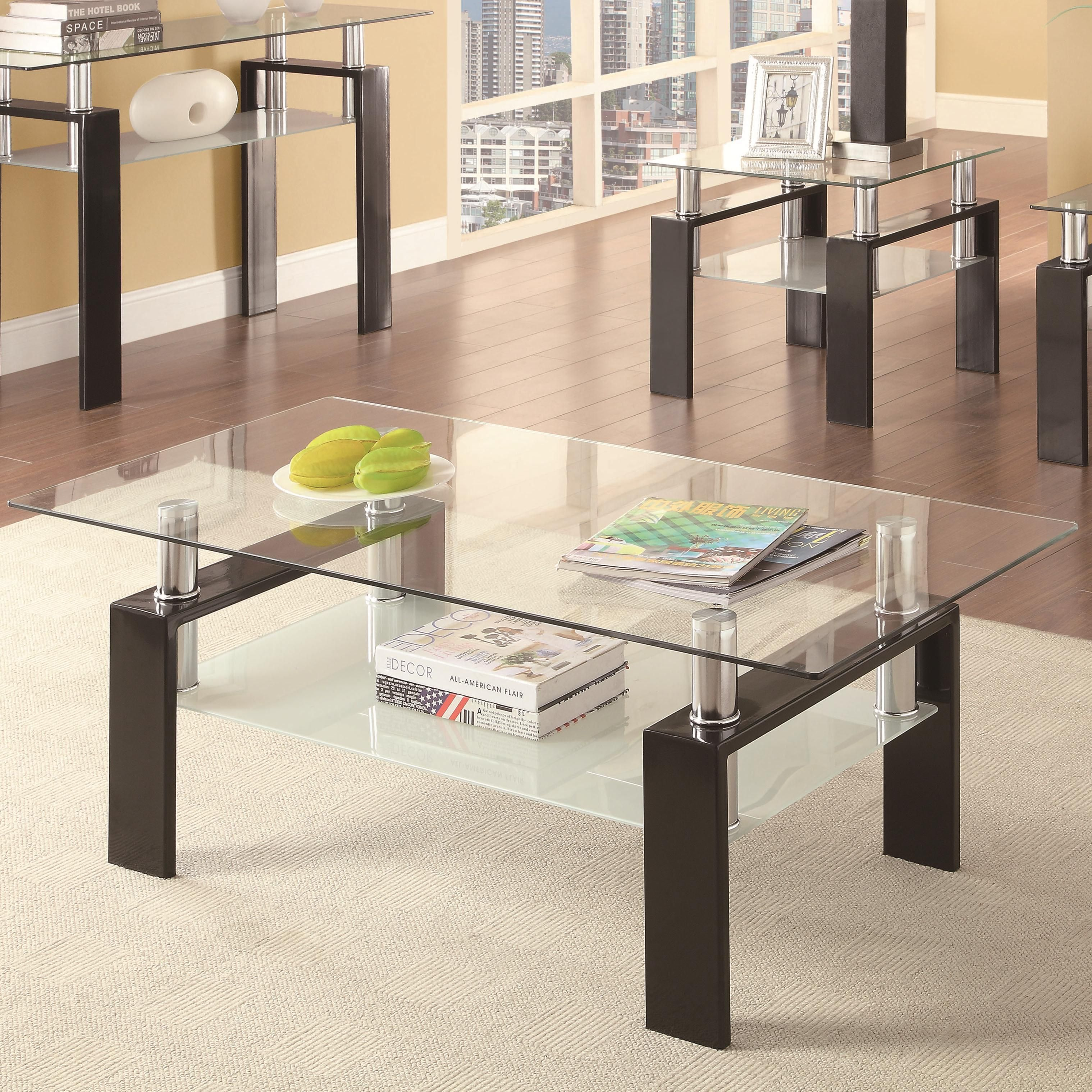 31++ Triangle tempered glass coffee table ideas