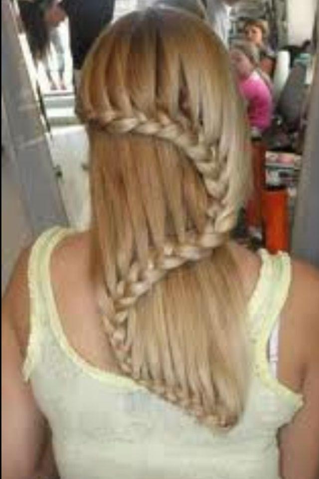 cool french braid hair