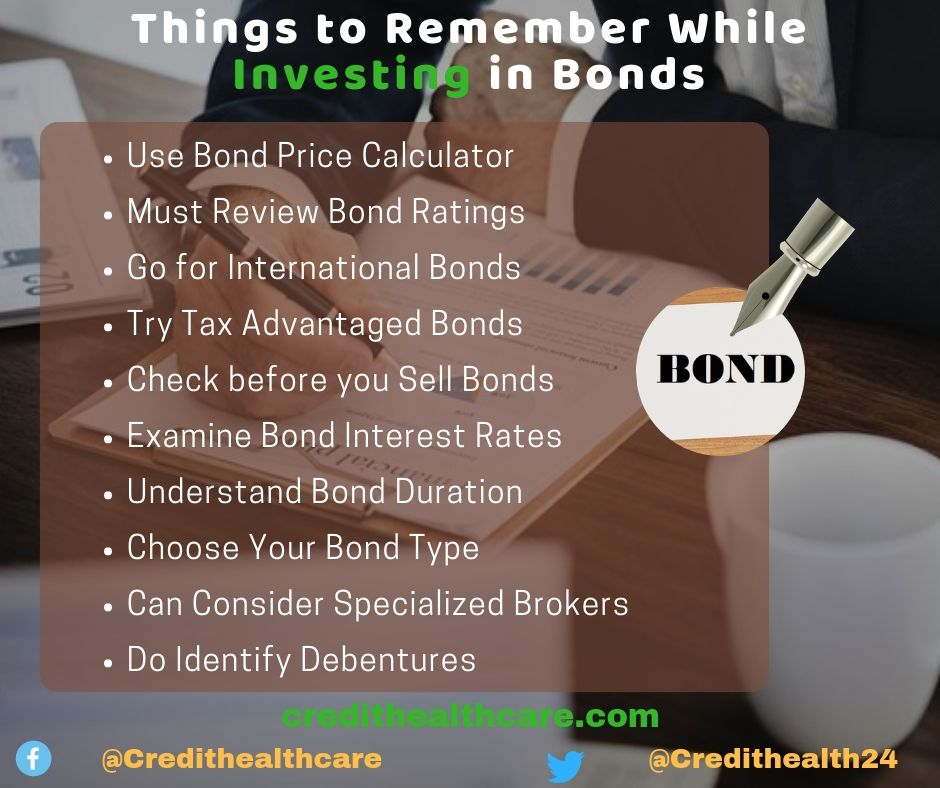 Things to remember while investing in bonds investing