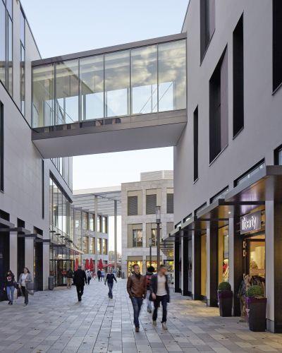 Architekten Hanau einkaufszentrum forum hanau hanau rkw architektur mall
