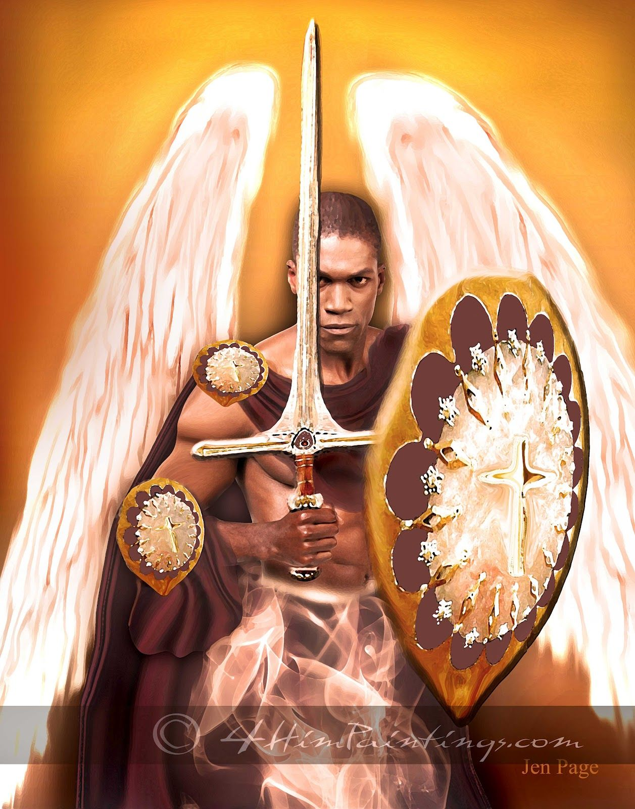 Warrior Angels of God | Warrior Angel | Angel warrior