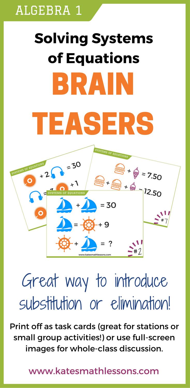 team building brain teasers