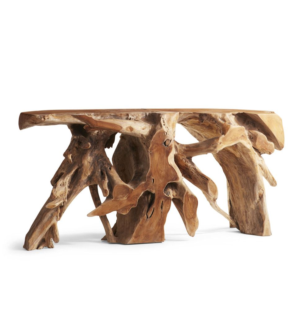 Dining Table Base Raw Teak Root Table Wisteria Teak Root Console Dining Table Bases Root Table