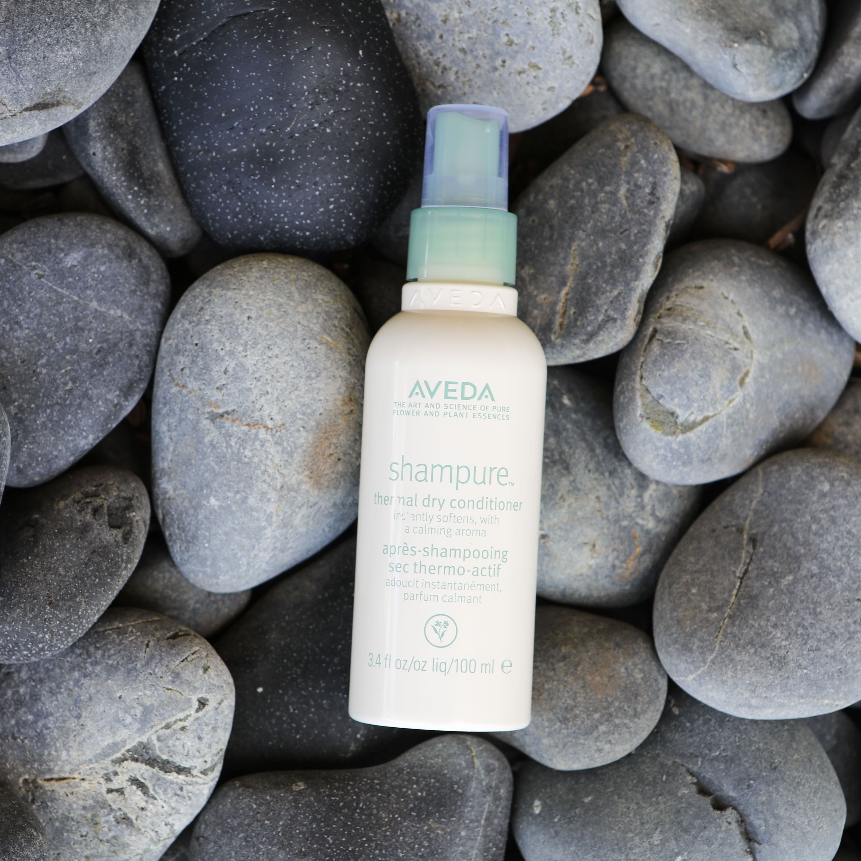 Aveda Using Dry Shampoo Dry Conditioner Aveda