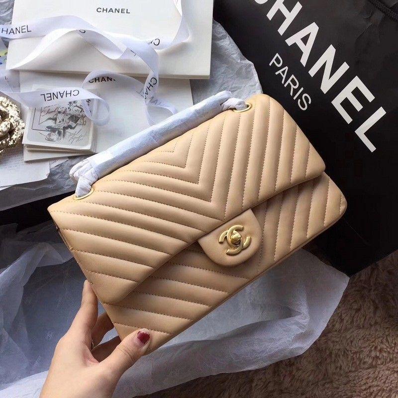 867f55ae0e2ba2 Chanel 11.12 Flap Bag beige #chanel #handbags #chanel1112 ...