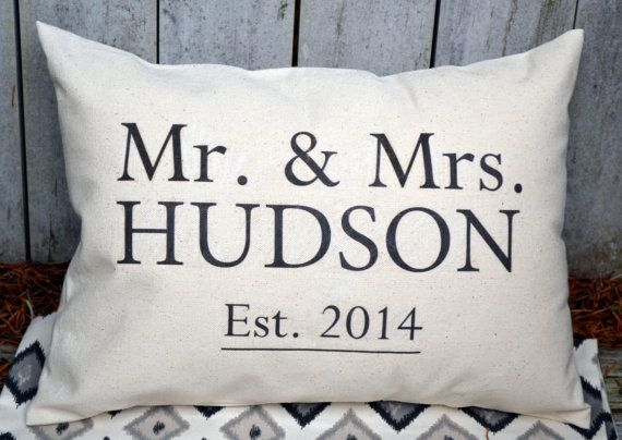 Unique Wedding Gifts For Second Marriage: Personalized 2nd Anniversary Cotton Gift, Mr. & Mrs