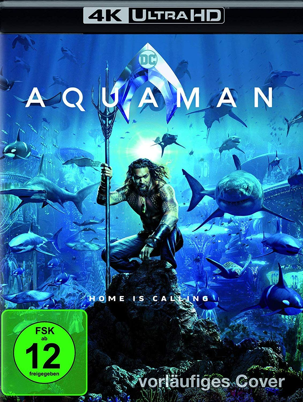 aquaman steelbook  Aquaman (Steelbook) - Ultra HD Blu-ray [4k + Blu-ray Disc] | 4K ...