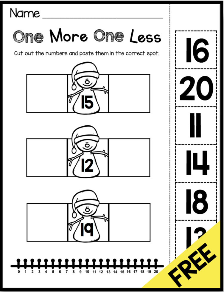 January No Prep Math Literacy Pack Freebies Keeping My Kiddo Busy Common Core Math Kindergarten Kindergarten Math Worksheets Kindergarten Math Activities