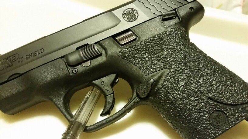 Talon Grips on my M&P Shield .40