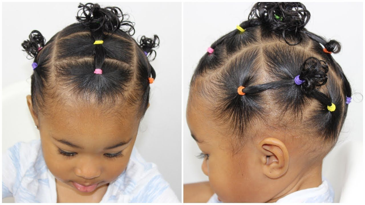 Hairstyle for Toddlers With Short Hair  Lil girl hairstyles, Kids