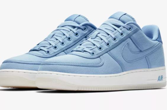 Release Date  Nike Air Force 1 Low Canvas December Sky The Nike Air Force 1 e5af3f9afc