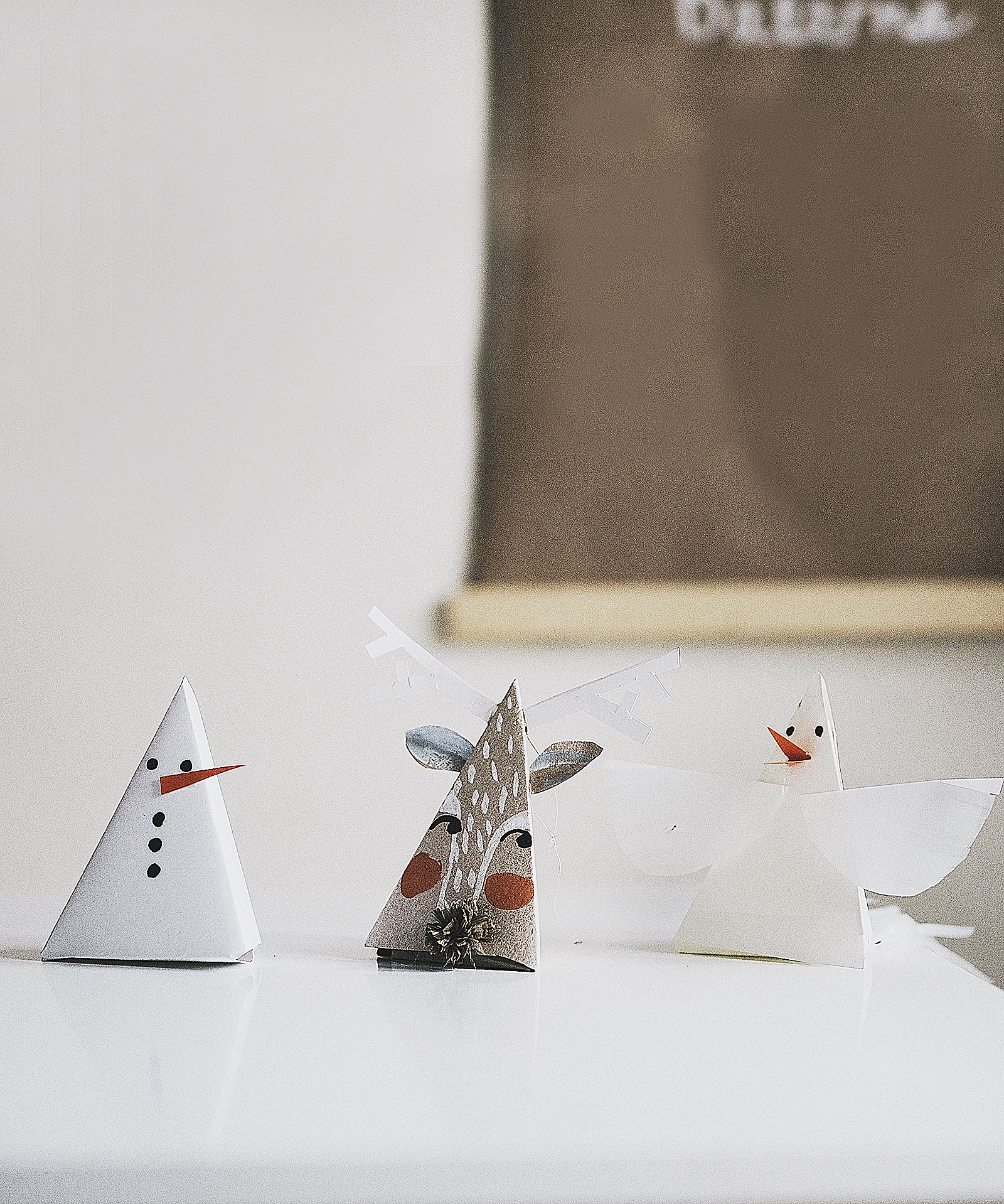 7 Paper Ornaments With Template From Willowday