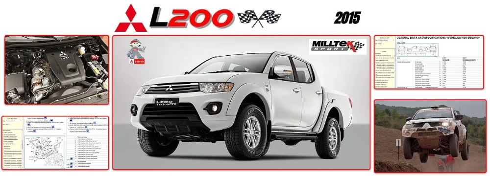 Mitsubishi L200 Workshop Manual