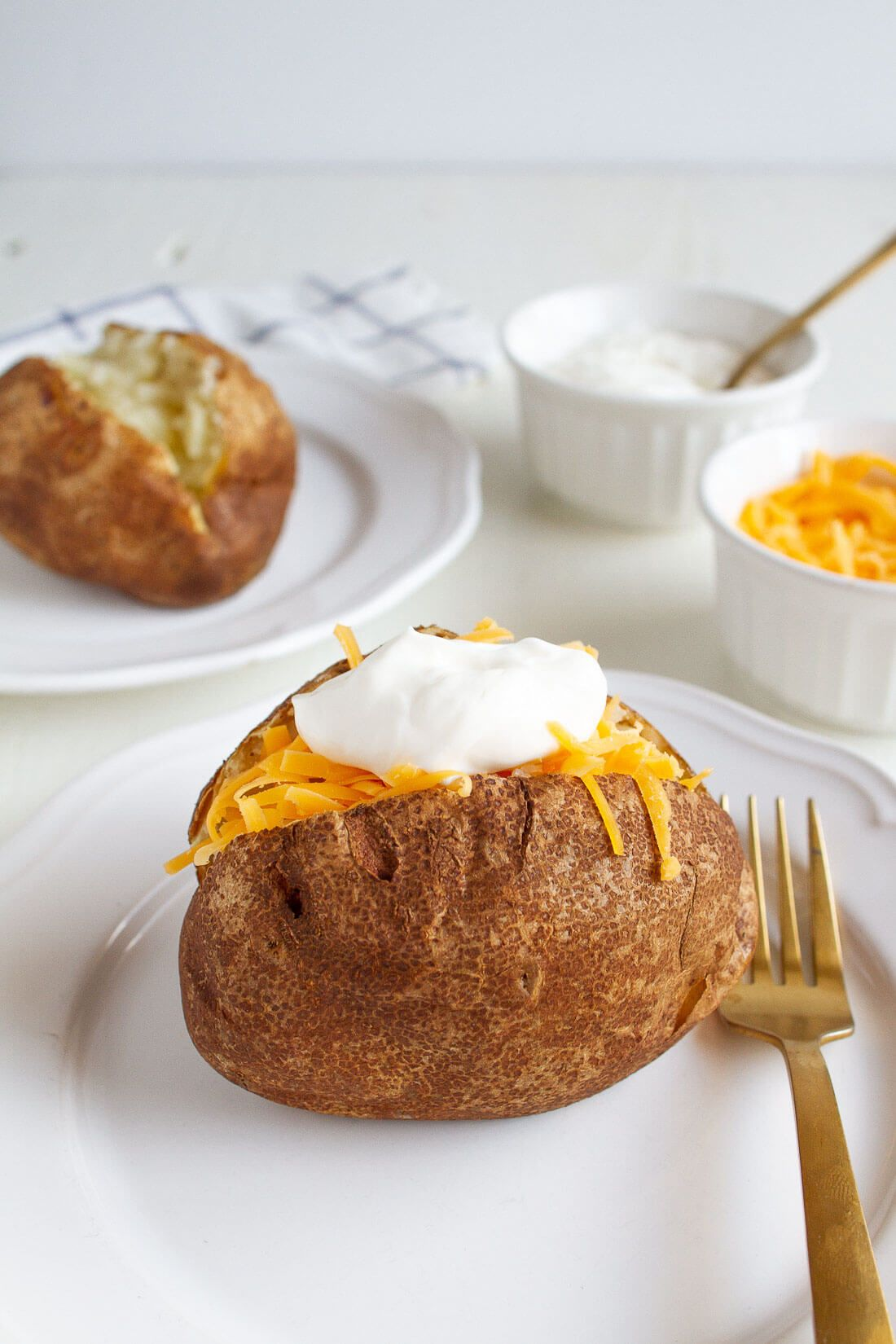 Air Fryer Baked Potatoes Recipe Sweet potato dip