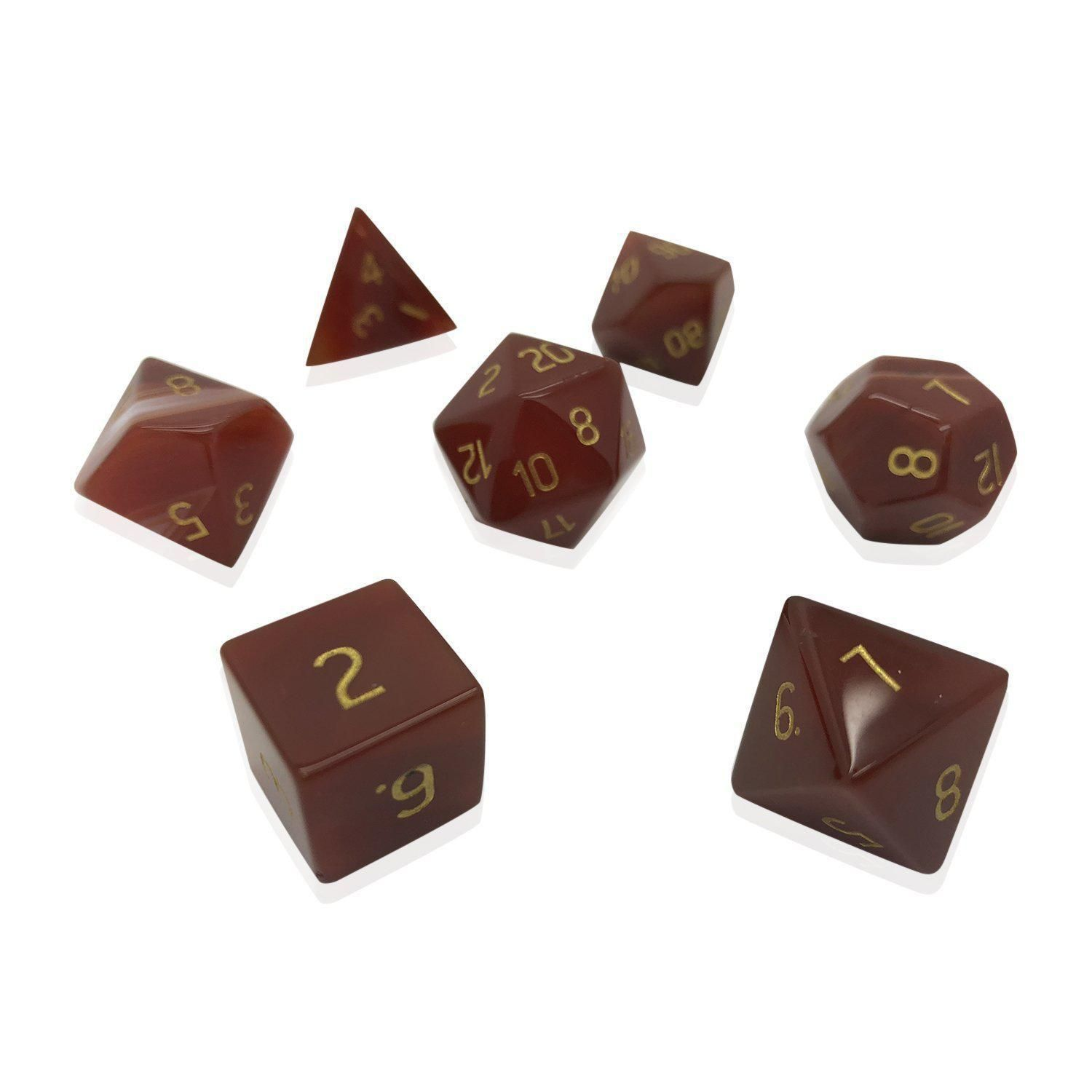 Carnelian 7 Piece Rpg Dice Set Gemstone Rpg Gemstones Carnelian Shop the latest norse projects at end. pinterest