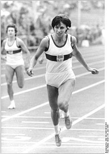 Marita Koch Wikipedia The Free Encyclopedia Track And Field Athlete Sprinting