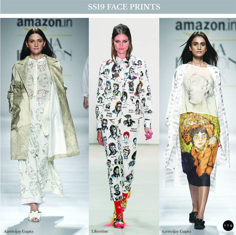 Spring Summer 2019 Print Trend Portraiture The Textile Guild