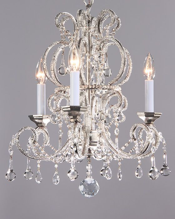 Crystal Chandeliers Small Crystal Chandelier On A Hand Wrought